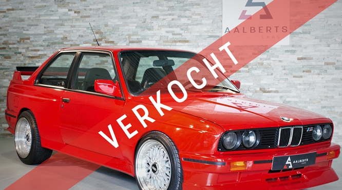 BMW 3-Serie (M3 Clone) E30 (Brilliant Red) Sport Evolution